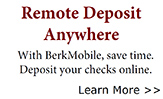 BerkMobile – Mobile Banking - Click Here